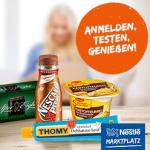 Teste Produkte von Nestle