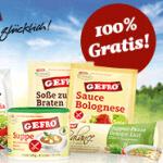 Produktproben von Gefro