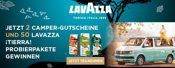 Probierpaket kostenlos von Lavazza